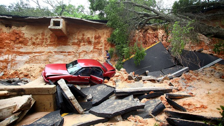 De ravage in Florida is enorm Beeld Getty Images