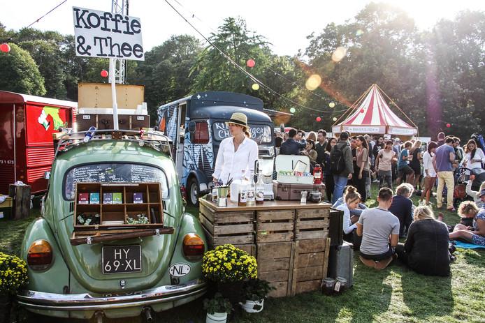 Een eerdere editie van het foodtruckfestival TREK, dat ook Nijmegen aan doet.