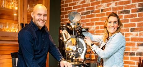 Eigen koffielijn van Hoeksche Branders: Heinenoords stel lanceert ook digitale etalage voor streekproducten