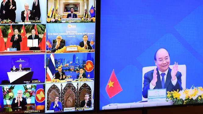 Aziatische landen ondertekenen grootste vrijhandelsakkoord ter wereld na acht jaar onderhandelen