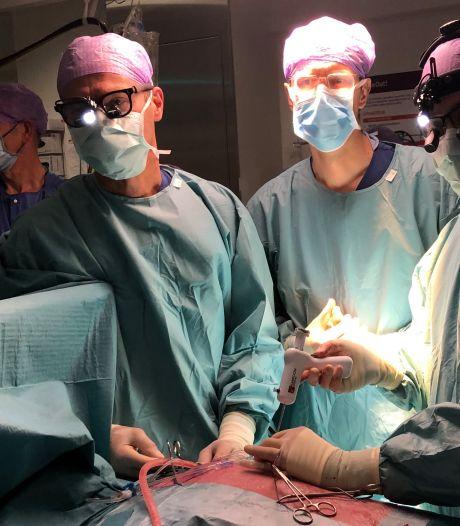 Uniek! Voor het eerst een kloppend hart 'gerepareerd' in St. Antonius Ziekenhuis