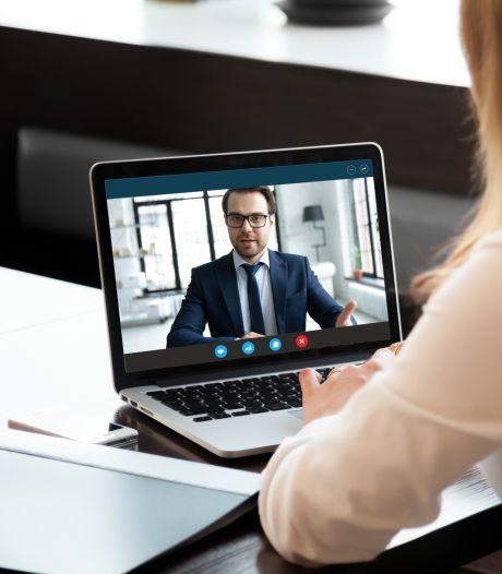 Hier moet je op letten als je een online-sollicitatiegesprek voert