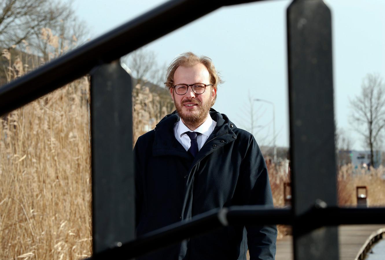 Burgmeester Mark Boumans.