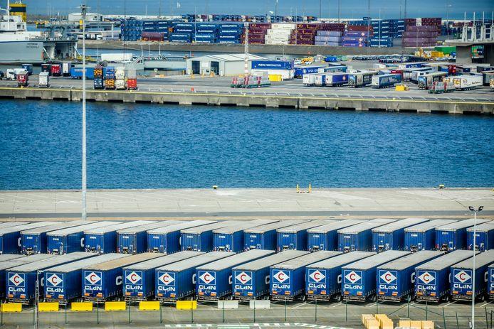 De feiten speelden zich af in de haven van Zeebrugge. (illustratiebeeld)