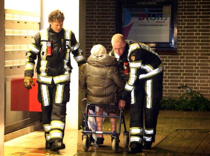 Ouderen hebben hulp nodig om bij brand een instelling te kunnen verlaten.
