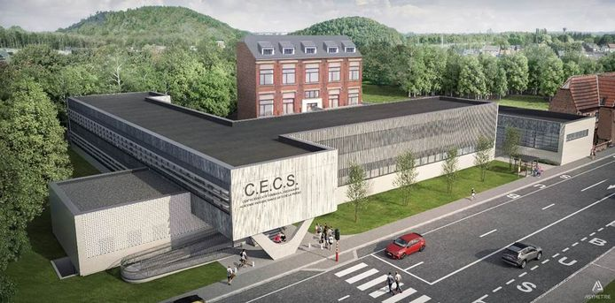 Le nouveau CECS Couillet-Marcinelle (Charleroi) est en route.