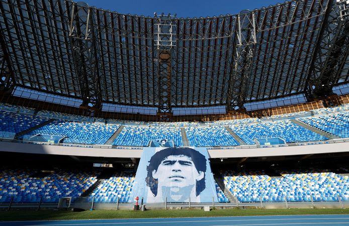 Stadio Diego Armando Maradona van Napoli.