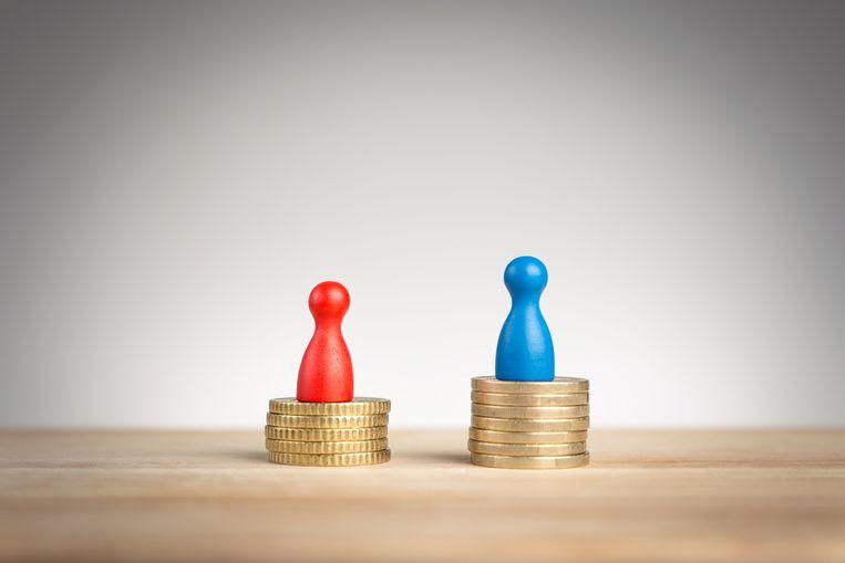 Een groot deel van de loonkloof is terug te brengen tot de ongelijke verdeling van onbetaalde arbeid, meent Zij-kant. Beeld Shutterstock