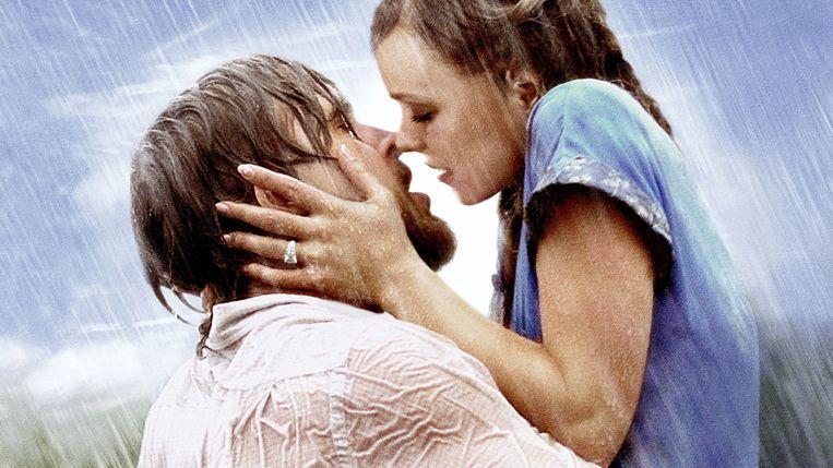 Ryan Gosling en Rachel McAdams in 'The Notebook'.