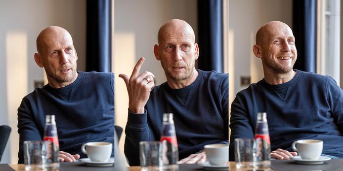 Jaap Stam op zijn praatstoel in Zwolle.