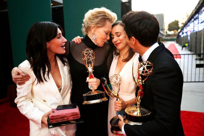 """L'actrice et scénariste Michaela Coel a été récompensée pour son douloureux récit des suites d'un viol dans """"I may destroy you""""."""