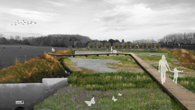 Bufferbekken wordt uitgebreid en Kleine Beek zal opnieuw kunnen meanderen