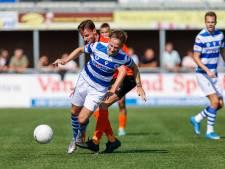 Roy Terschegget voor het eerst basisplek bij Blauwen, maar puike wedstrijd levert niet eens een punt op