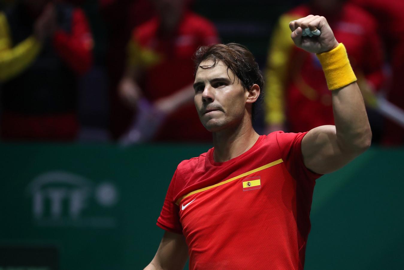Rafael Nadal et l'Espagne tenants du titre un an de plus en Coupe Davis?