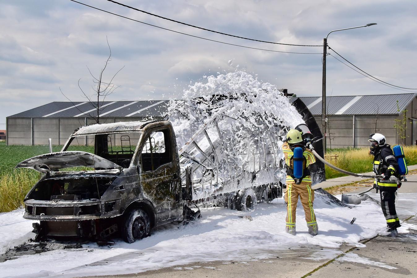 Illustratiebeeld: Brandweerschuim zou voor mogelijke vervuiling kunnen zorgen.
