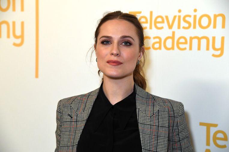 Evan Rachel Wood.  Beeld FilmMagic voor HBO
