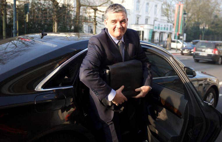 Minister van Defensie Steven Vandeput (N-VA). Beeld BELGA