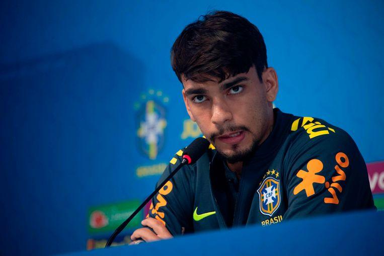 Lucas Paquetá. Beeld AFP