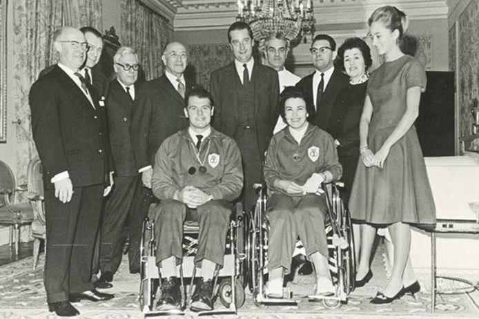 Première championne paralympique belge de l'histoire, Yvette Alloo est décédée à l'âge de 90 ans.
