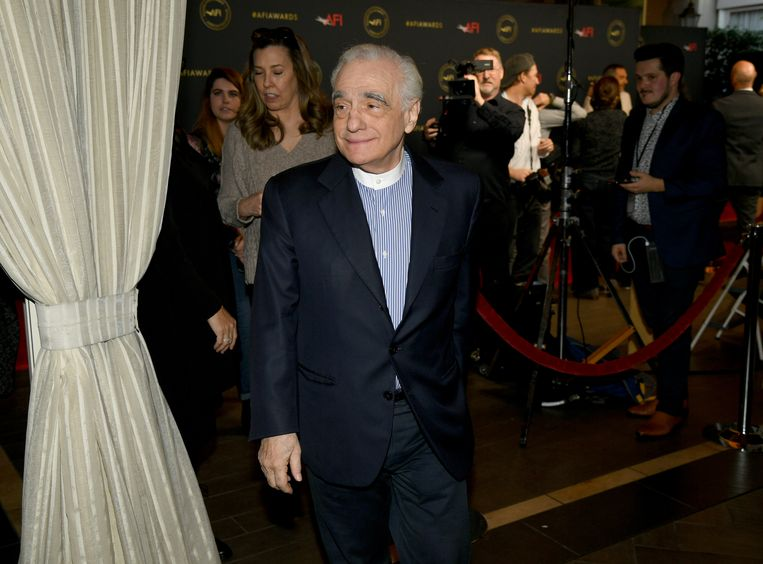 Martin Scorsese Beeld Getty Images
