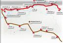 De Betuweroute en de Brabantlijn.
