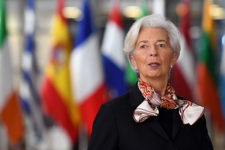 Christine Lagarde Beeld AFP