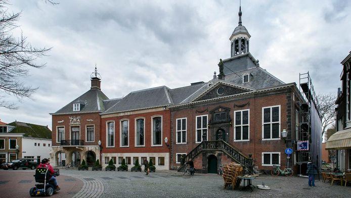 Ter illustratie. Het stadhuis in Vlaardingen.