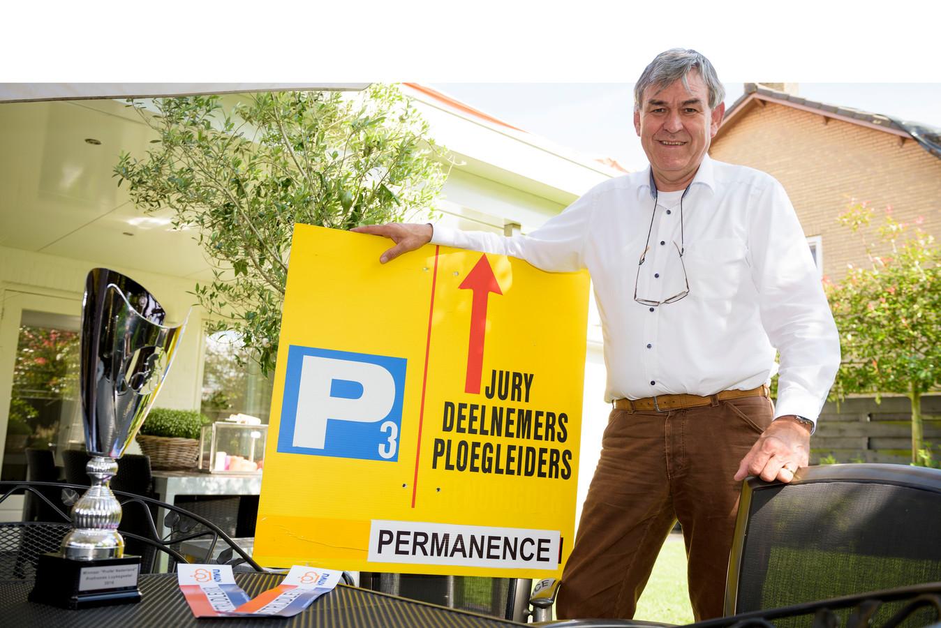 Wil Bellemakers in 2017, in betere tijden. Volgend jaar wil hij samen met zijn collega's van het wielercomité in Luyksgestel weer een mooi evenement neerzetten.