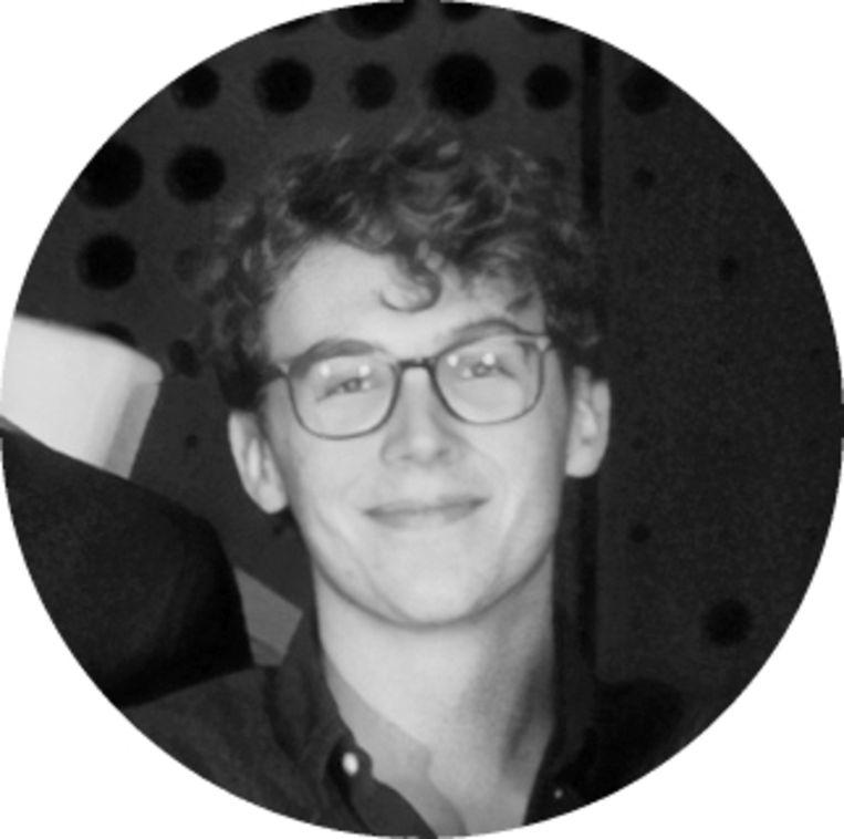 Levi Kok is student natuurkunde en oprichter van softwarebedrijf Bolmate. Beeld