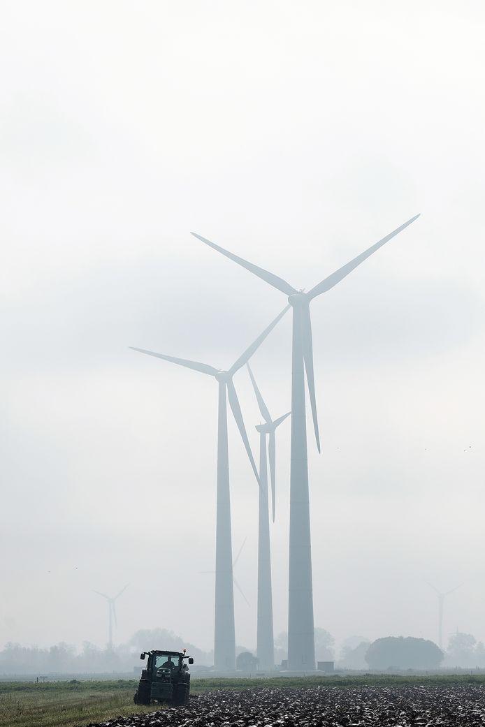 Windmolens bij Netterden.