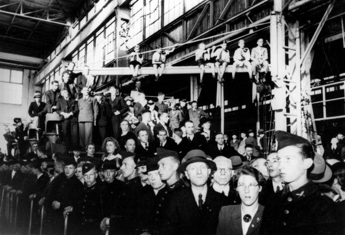 In de Storkfabriek begon het protest, dat zich vervolgens uitbreidde over het hele land.