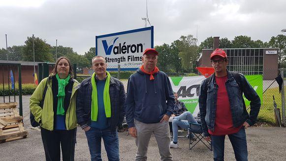 Het personeel van ITW Valéron legde donderdagochtend het werk neer. Donderdagavond werd dan toch een sociaal plan goedgekeurd.