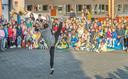 Er is ook ballettalent aanwezig in de school.