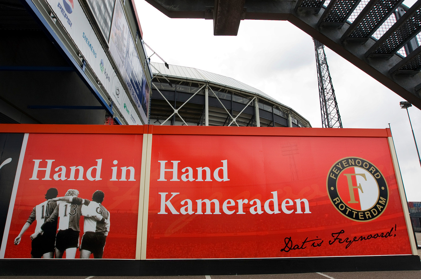 Het geboorteloket wordt morgen geopend in de fanshop van Feyenoord.