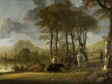 Britse koningin Elizabeth leent twee schilderijen Aelbert Cuyp uit aan Dordrechts Museum