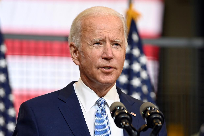 Joe Biden, presidentskandidaat voor de Democraten. Beeld REUTERS