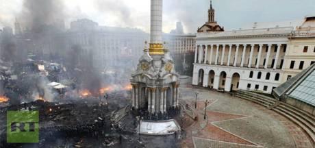 La place de l'Indépendance de Kiev, à 5 ans d'intervalle