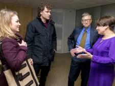 Jonge ondernemers plots oog in oog met Bill Gates