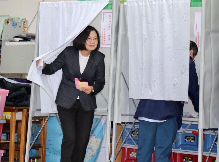 Tsai Ing-wen. Beeld EPA
