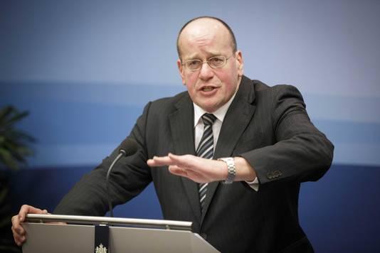 Staatssecretaris van Veiligheid en Justitie Fred Teeven.