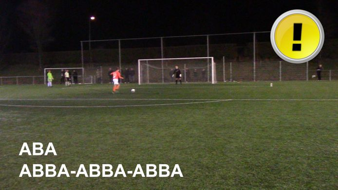 Penalty's bij SSV'65 tegen RBC. De befaamde ABBA-wedstrijd...