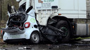 Bij het ongeluk was een chauffeur uit Hattem betrokken.