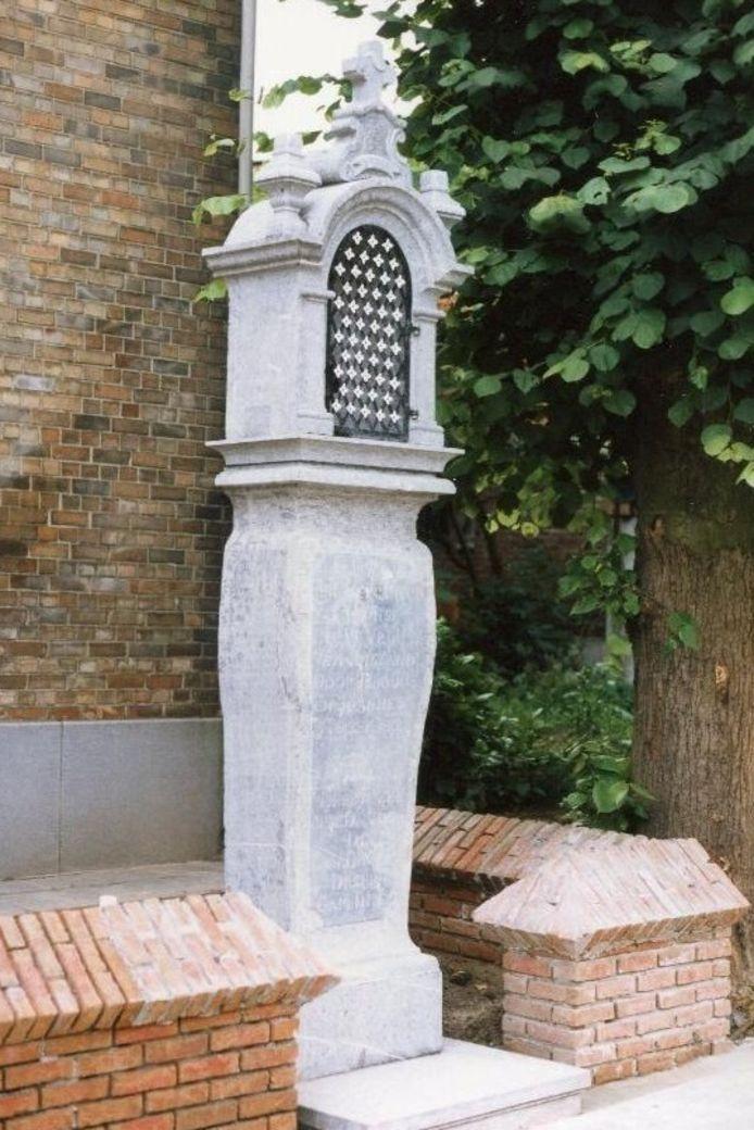 De kapel Hosselaert in de Dorpsstraat in Erpe dateert uit 1770.