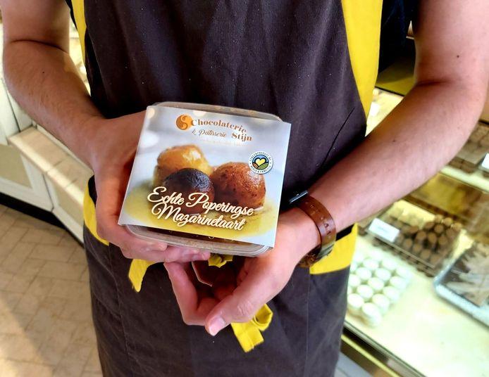 Mazarinetaart van Chocolaterie Stijn.