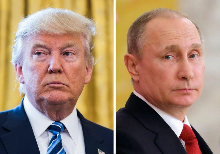 Donald Trump en Vladimir Poetin