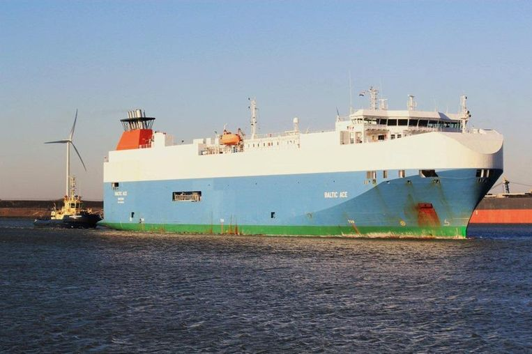 Een archiefbeeld van het vijf jaar oude schip, de Baltic Ace. Beeld AFP