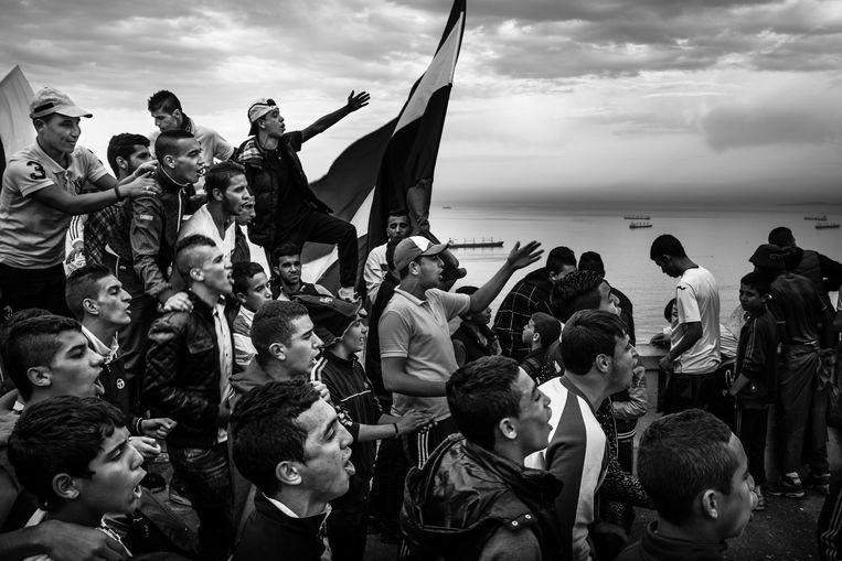 'Kho, the Genesis of Revolt' van Romain Laurendeau in Algerije. Beeld EPA