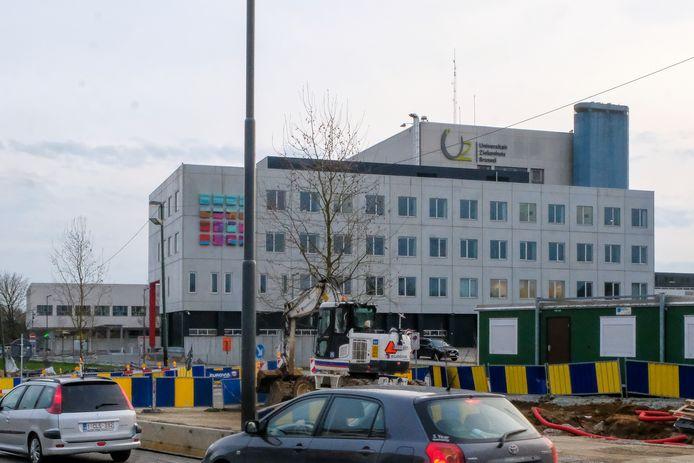 Het UZ Brussel.