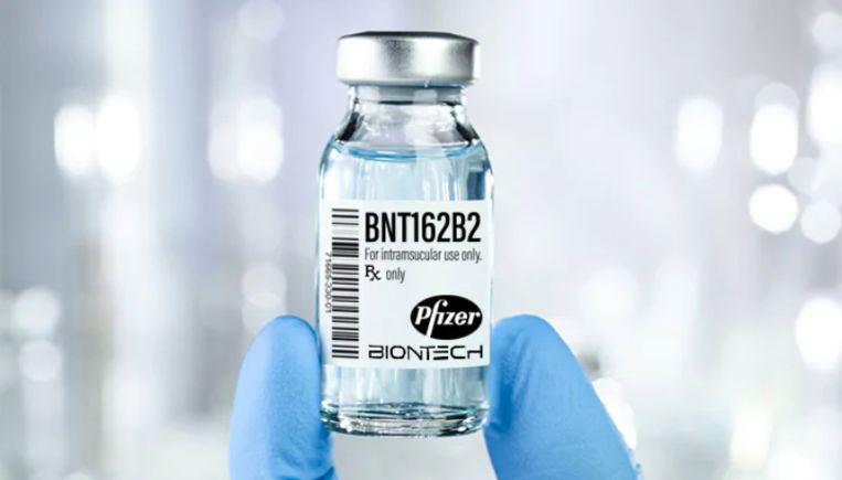 Verwacht wordt dat het vaccin, na goedkeuring, volgend jaar in Nederland beschikbaar zal zijn. Beeld Pfizer