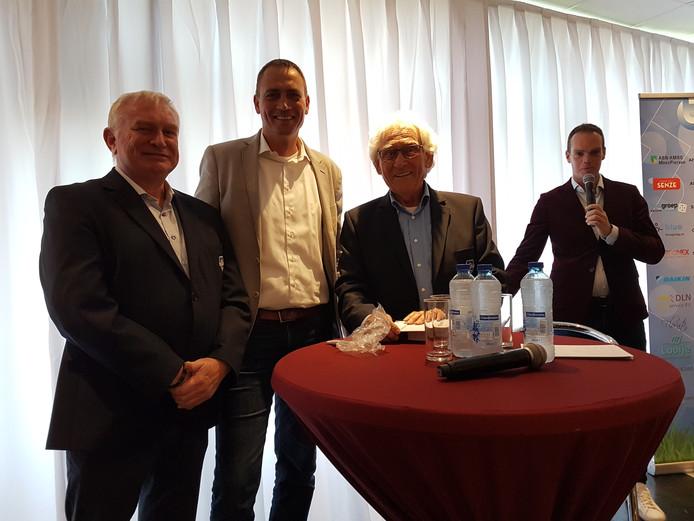 Jan van der Deijl, Frank Boers, Leo de Haan en Frank Stout.